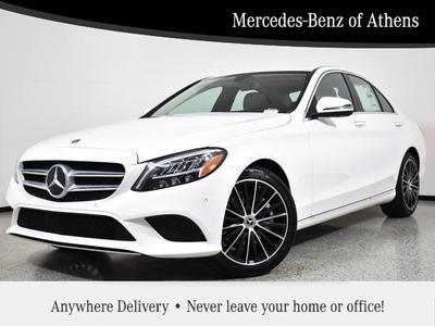 new 2021 Mercedes-Benz C-Class car, priced at $45,775