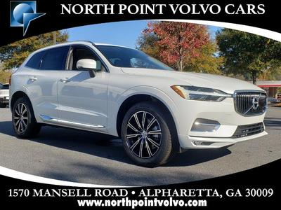 new 2021 Volvo XC60 car, priced at $50,840