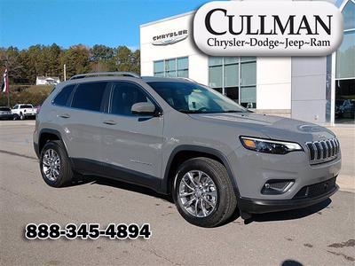 new 2021 Jeep Cherokee car, priced at $34,052