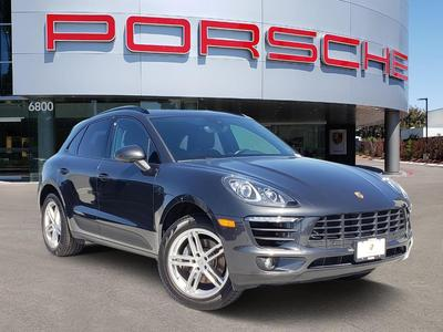 used 2017 Porsche Macan car, priced at $43,995