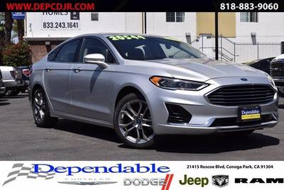 used 2019 Ford Fusion car, priced at $16,800