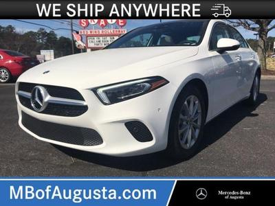 used 2020 Mercedes-Benz A-Class car, priced at $38,999