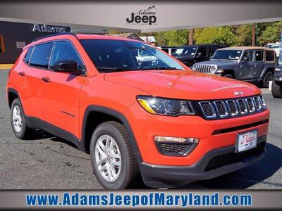 new 2021 Jeep Compass car, priced at $20,592