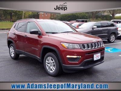 new 2021 Jeep Compass car, priced at $21,274