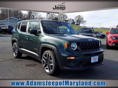 new 2021 Jeep Renegade car, priced at $19,618