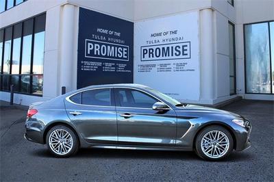 new 2021 Genesis G70 car, priced at $40,143