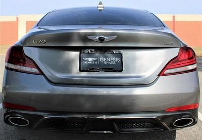 new 2021 Genesis G70 car, priced at $49,035