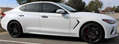 new 2021 Genesis G70 car, priced at $49,462