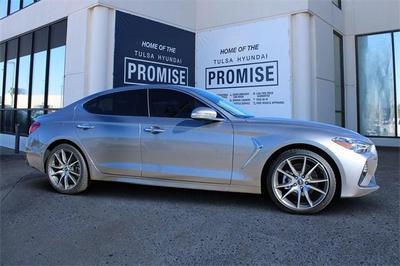 new 2021 Genesis G70 car, priced at $42,675