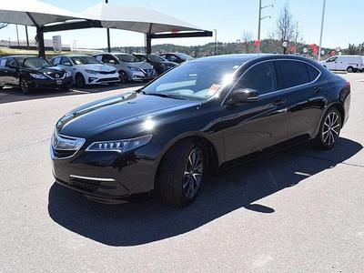 used 2015 Acura TLX car, priced at $19,995