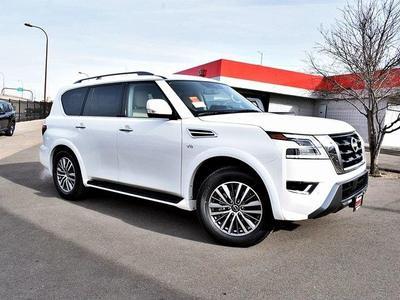 new 2021 Nissan Armada car, priced at $59,230