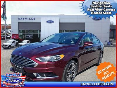 used 2018 Ford Fusion car, priced at $19,589