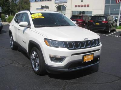 used 2017 Jeep Compass car, priced at $22,752