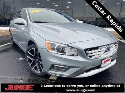 used 2017 Volvo S60 car, priced at $21,340