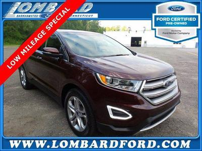 used 2018 Ford Edge car, priced at $27,824
