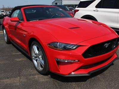new 2021 Ford Mustang car, priced at $50,400
