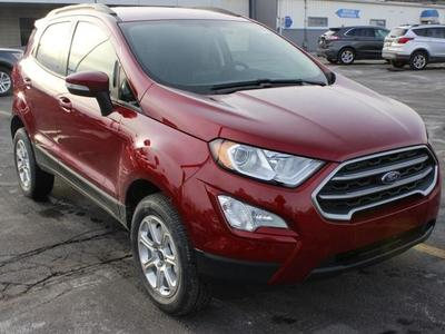 new 2021 Ford EcoSport car, priced at $26,785