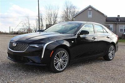 new 2021 Cadillac CT4 car, priced at $44,080