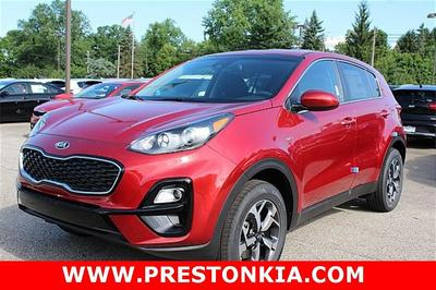 new 2021 Kia Sportage car, priced at $25,085