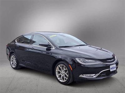 used 2015 Chrysler 200 car, priced at $12,997