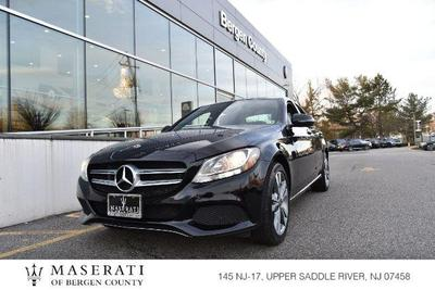 used 2018 Mercedes-Benz C-Class car, priced at $31,998