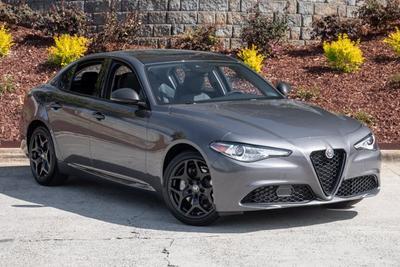 new 2021 Alfa Romeo Giulia car
