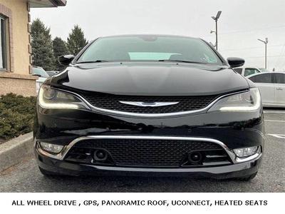 used 2015 Chrysler 200 car, priced at $13,889
