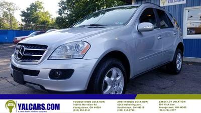 used 2007 Mercedes-Benz M-Class car, priced at $7,499