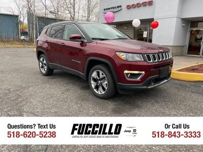 new 2021 Jeep Compass car, priced at $32,555