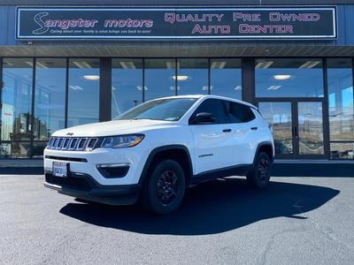 used 2018 Jeep Compass car, priced at $19,995