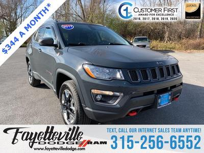 used 2017 Jeep Compass car, priced at $21,544