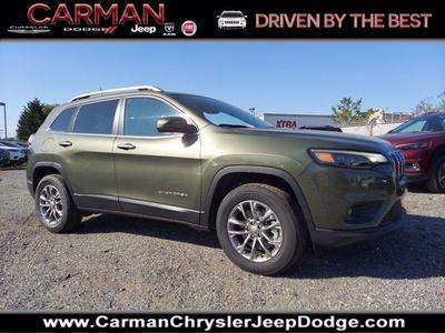 new 2021 Jeep Cherokee car, priced at $31,305