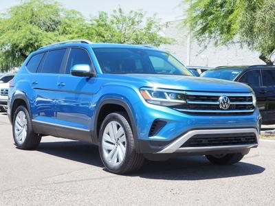 new 2021 Volkswagen Atlas car, priced at $39,080