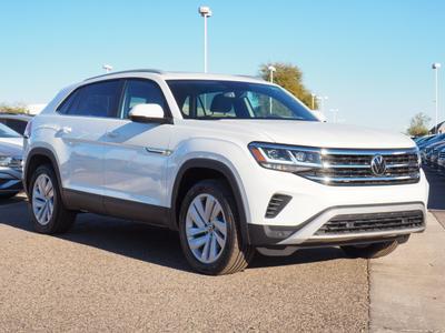 new 2021 Volkswagen Atlas Cross Sport car, priced at $38,175