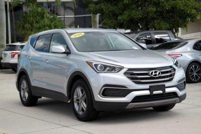 used 2018 Hyundai Santa Fe Sport car, priced at $18,988