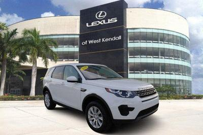 used 2018 Land Rover Discovery Sport car, priced at $30,988