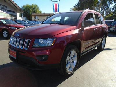 used 2016 Jeep Compass car, priced at $11,990
