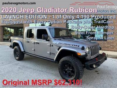 used 2020 Jeep Gladiator car, priced at $52,555