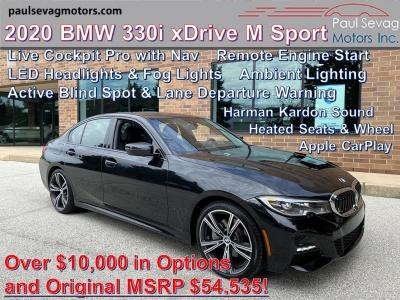 used 2020 BMW 330 car, priced at $45,988
