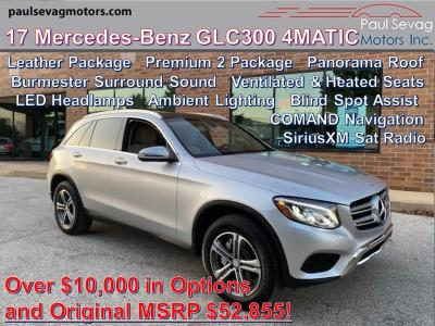 used 2017 Mercedes-Benz GLC 300 car, priced at $32,970