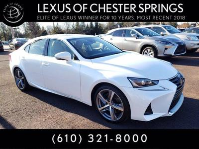 used 2017 Lexus IS 300 car, priced at $27,987