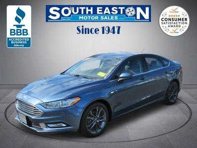 used 2018 Ford Fusion car, priced at $16,995