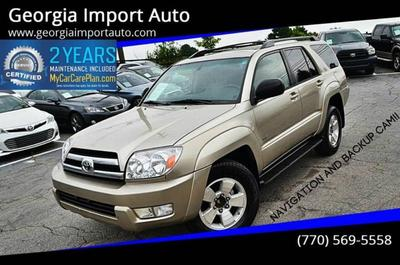 used 2005 Toyota 4Runner car, priced at $7,200