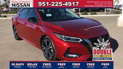 new 2021 Nissan Sentra car, priced at $23,441