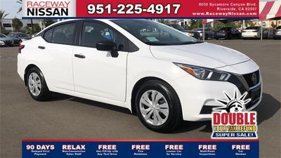new 2021 Nissan Versa car, priced at $16,970