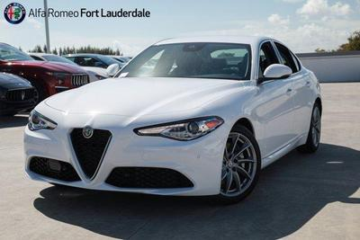new 2021 Alfa Romeo Giulia car, priced at $39,340