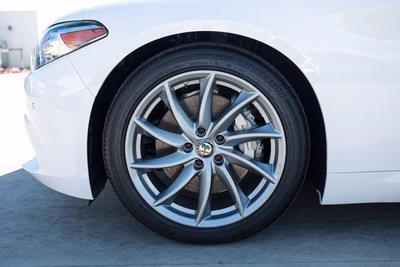 new 2021 Alfa Romeo Giulia car, priced at $39,340
