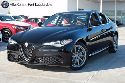 new 2021 Alfa Romeo Giulia car, priced at $40,935