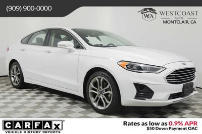 used 2019 Ford Fusion car, priced at $18,779