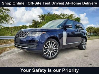 used 2018 Land Rover Range Rover car, priced at $78,942